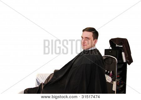 Man With New Styling