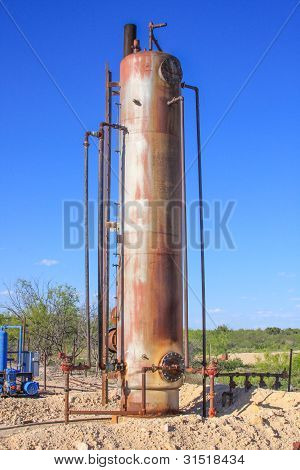 Heater Treater Oil and Gas Production Equipment