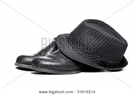 Fedora And Dress Shoes