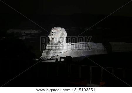 Sphinx In Giza Pyramid Complex, Cairo, Egypt