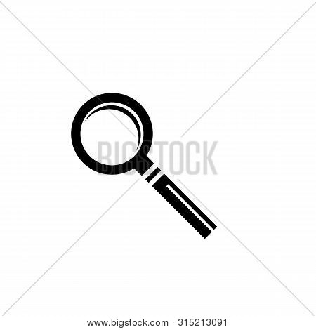 Magnifying Glass Icon. Logo Element Illustration.magnifying Glass Symbol Design. Colored Collection.