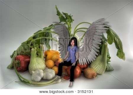Vegetable And Angel Hdri.