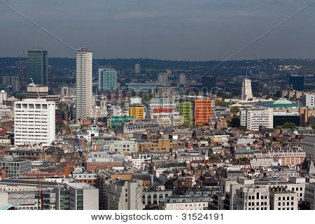 London Colored Buildings And Towers