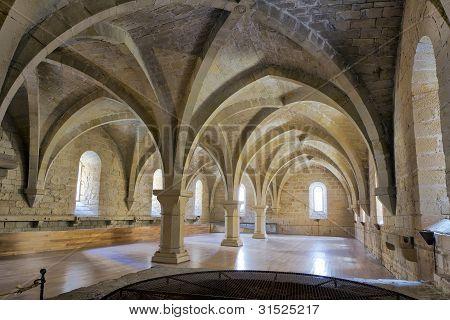 Monastery Of Santa Maria De Poblet Basement Vault