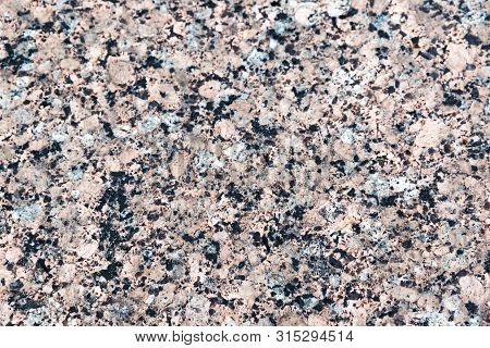 Red Marble Terrazzo Flooring Pattern. Texture Of Mosaic Floor With Natural Stones, Granite, Marble,