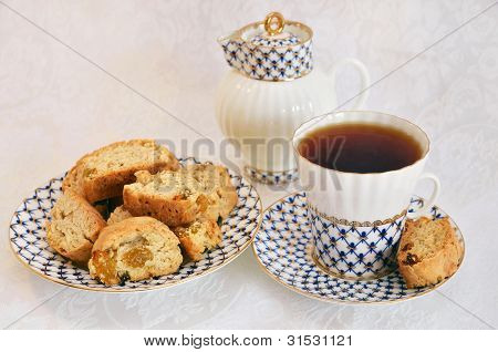 Tea Party With Cakes