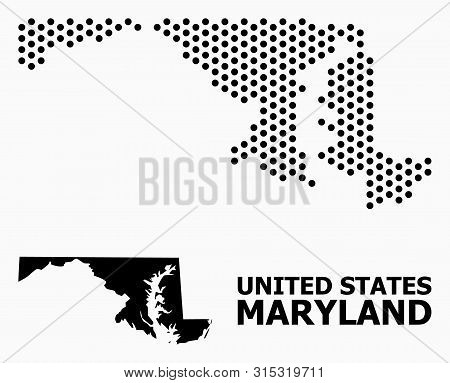 Dotted Map Maryland Vector & Photo (Free Trial) | Bigstock on graffiti of maryland, layout of maryland, landscape of maryland, graph of maryland, icons of maryland, clipart of maryland, food of maryland, drawing of maryland, cartoon of maryland,