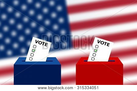 United States Elections. Us Midterm Elections: The Race For Congress. Elections To Us Senate, Prepar