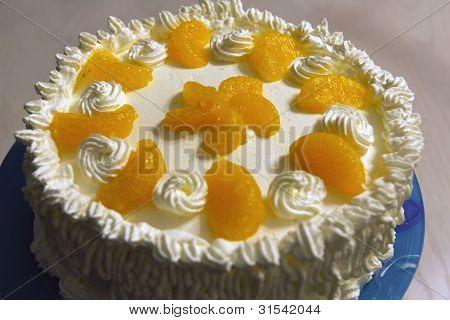 Amateur orange cake