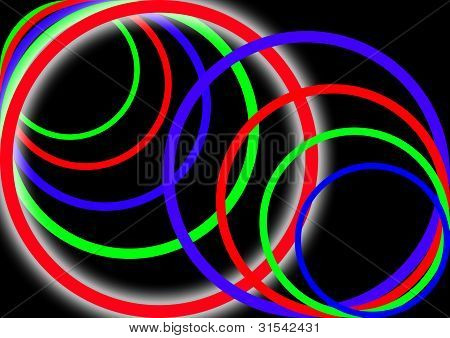 colourful circle