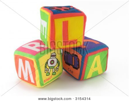 Cloth Toy Cube