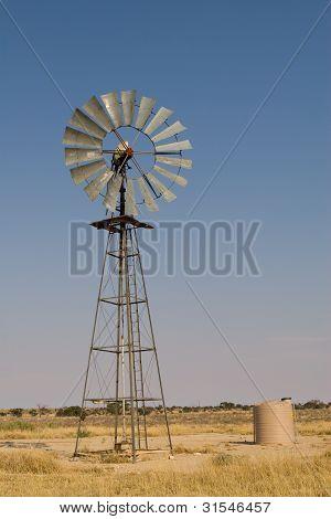 Kalahari-Windmühle