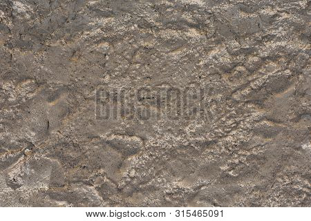 Old Cement Wall Texture Gray Brown Wall