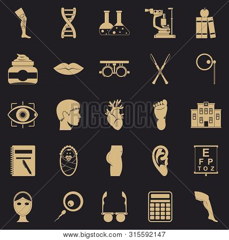Assay Icons Set. Simple Set Of 25 Assay Icons For Web For Any Design