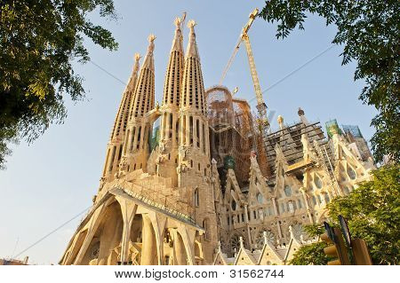 Sagrada Familia By Antonio Gaudi
