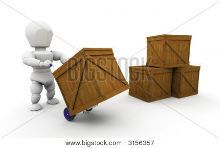 Stacking Crates