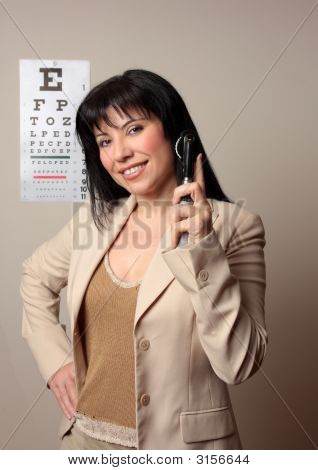Happy Optometrist