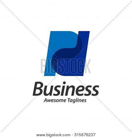 Creative Strong Bold Initial Letter Pd Logo Design Vector Illustration