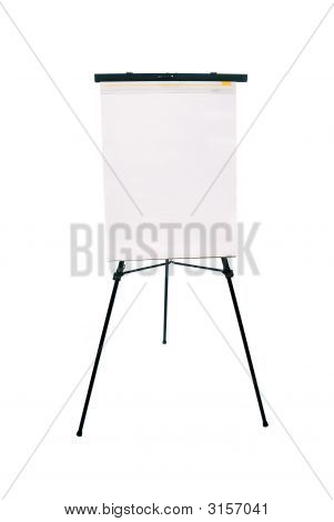 Flip Chart Pad And Easel