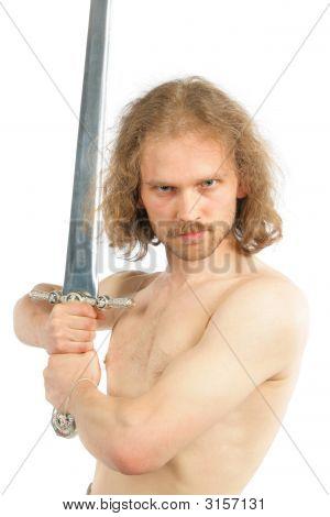 Warrior With Long Sword