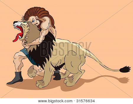 Samson And Lion