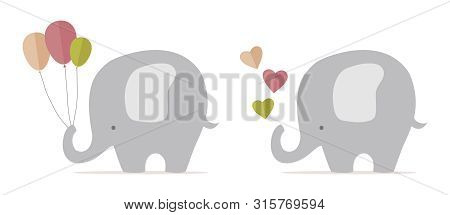 Cute Baby Elephant, Nursery Stuff, Newly Born