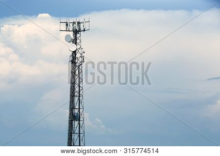 Communication Tower, Intranet, Network , Data Link, Telephone