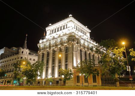 Government Department Of Finance And Public Administration Madrid Spain