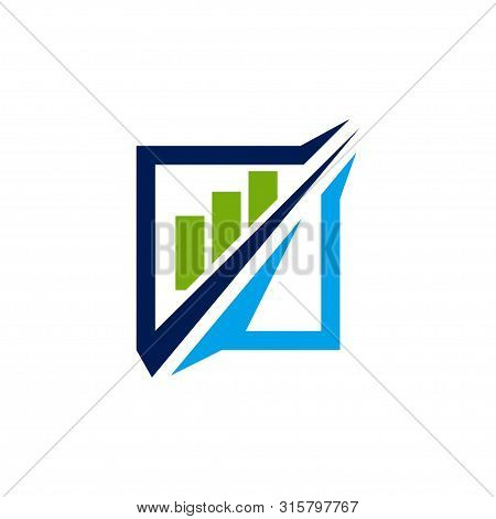 Accounting Tax Financial Business Logo Design Template Vector