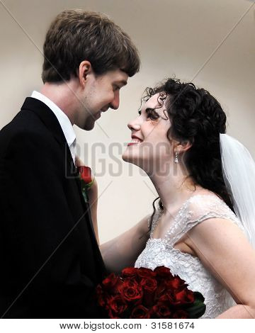 Adoring New Wife