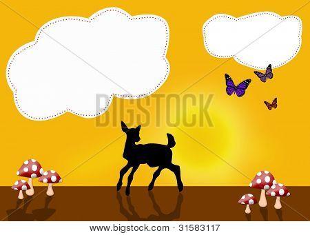 Cute Deer Design