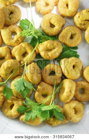Tarallini Italian Snacks Bagels Snacks Cookies Drying