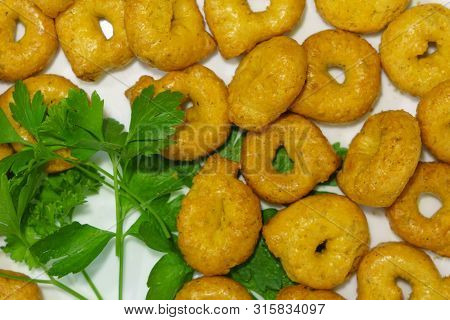 Taralli Tarallini Drying Italian Snacks Bagels Cookie