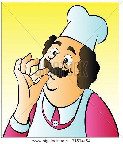 Chef cartoon 01