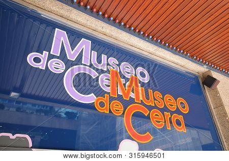 Madrid Spain - May 28, 2019: Museo De Cera Wax Museum Madrid Spain