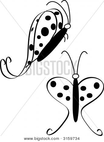 Butterfly Swirls