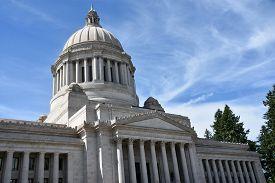 Washington State Capitol In Olympia, Washington (usa)