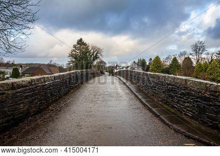 View Over The Bridge Of Dee, A Stone Bridge Near Castle Douglas, Dumfries And Galloway, Scotland
