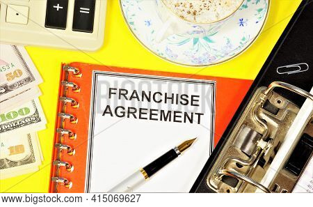 Franchise Agreement. Text Label On The Planning Form. Commercial Concession-the Transfer Of Rights T