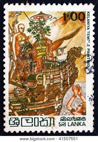 Postage Stamp Sri Lanka 1979 Princess Theri Sanghamitta