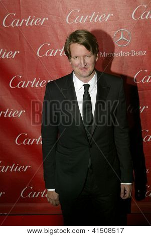 PALM SPRINGS, CA - JAN 5: Director Tom Hooper arrives at the 2013 Palm Springs International Film Festival's Awards Gala at the Palm Springs Convention Center on January 5, 2013 in Palm Springs, CA.