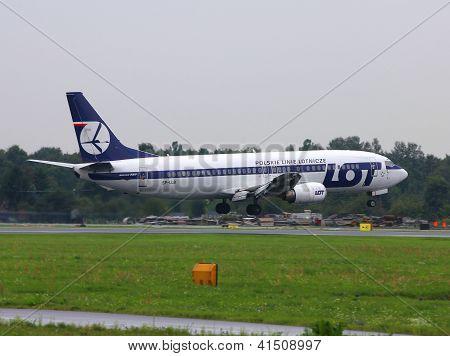 Lot Boeing 737