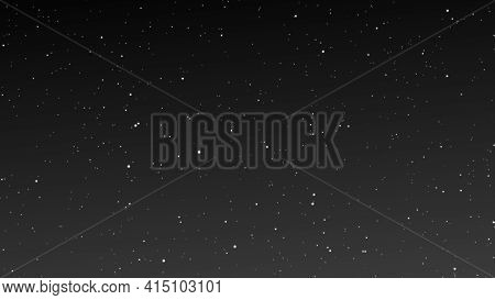 Shinny  Stars Animation On Black Background.graphic Motion Overlay Effect Loop With Galaxy Sky Twink