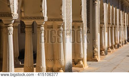 Historic Paigah tombs in Old Hyderabad, India