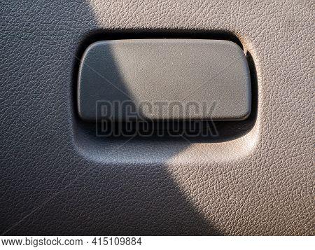 Plastic Handle For Car Glove Compartment Door.
