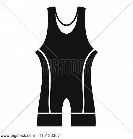 Greco-roman Wrestling Clothes Icon. Simple Illustration Of Greco-roman Wrestling Clothes Vector Icon