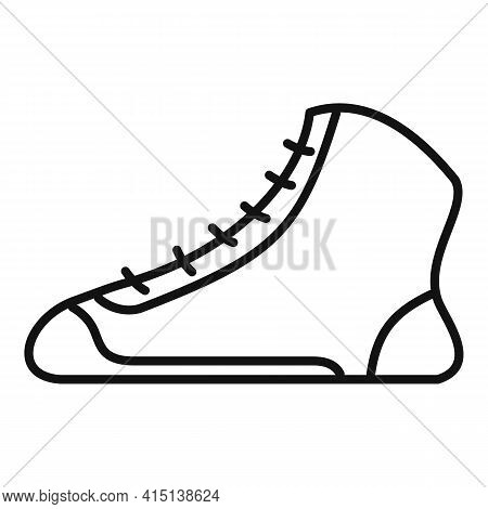 Greco-roman Wrestling Shoes Icon. Outline Greco-roman Wrestling Shoes Vector Icon For Web Design Iso