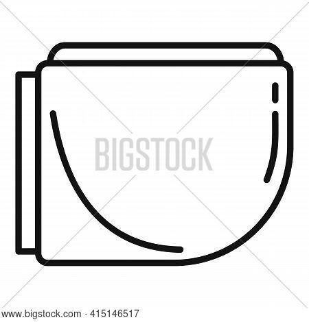 Apartment Bidet Icon. Outline Apartment Bidet Vector Icon For Web Design Isolated On White Backgroun