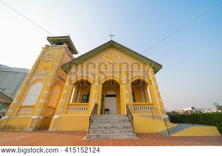 First Presbyterian Church, Samray In Capital Bangkok, Architecture Preservation Structure Building L