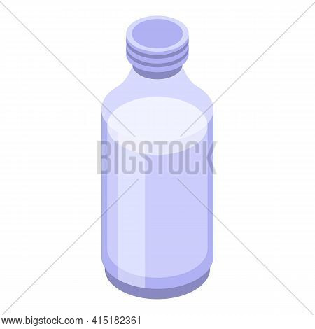 Dairy Product Gmo Icon. Isometric Of Dairy Product Gmo Vector Icon For Web Design Isolated On White